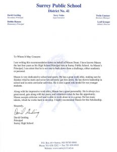 Recommendation Letter For Principal from minotab.com